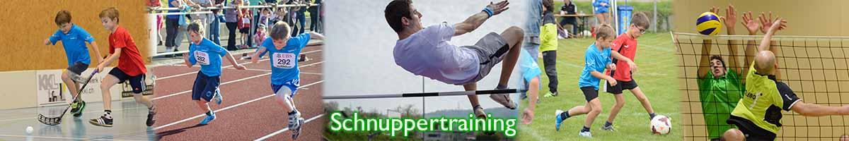 Schnuppertraining